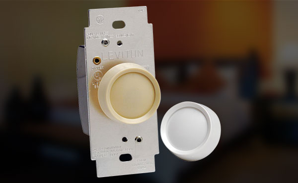 Leviton Universal Turn On-Off Rotary Dimmer Switch