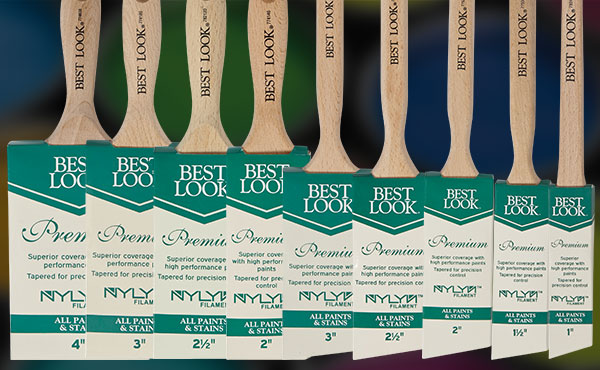 Best Look Premium Nylyn Paint Brushes