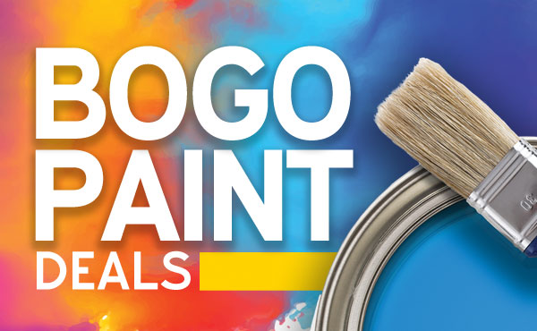 BOGO Paint Sale